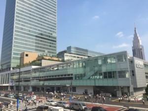 新宿バスタから目黒いべ治療院
